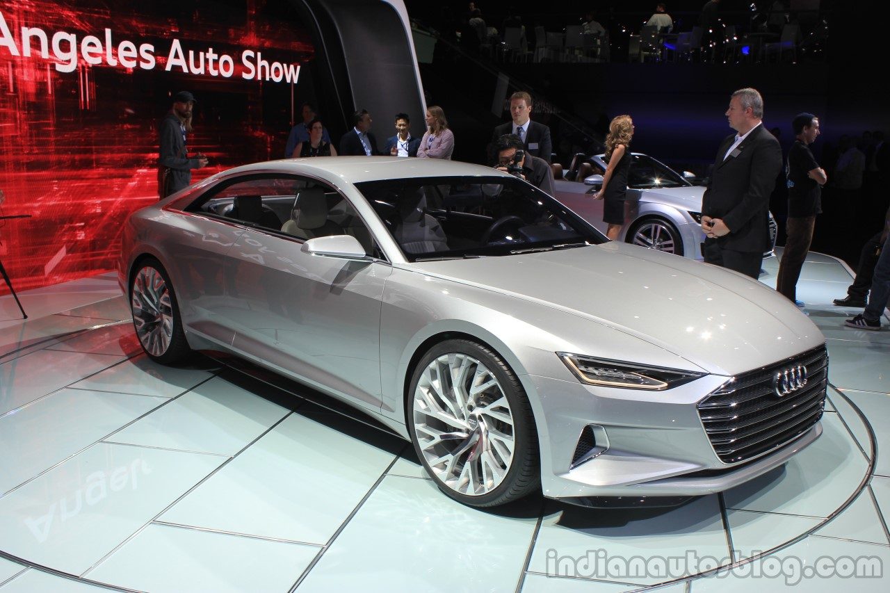 Audi Prologue Concept front three quarters at the 2014 Los Angeles Auto Show