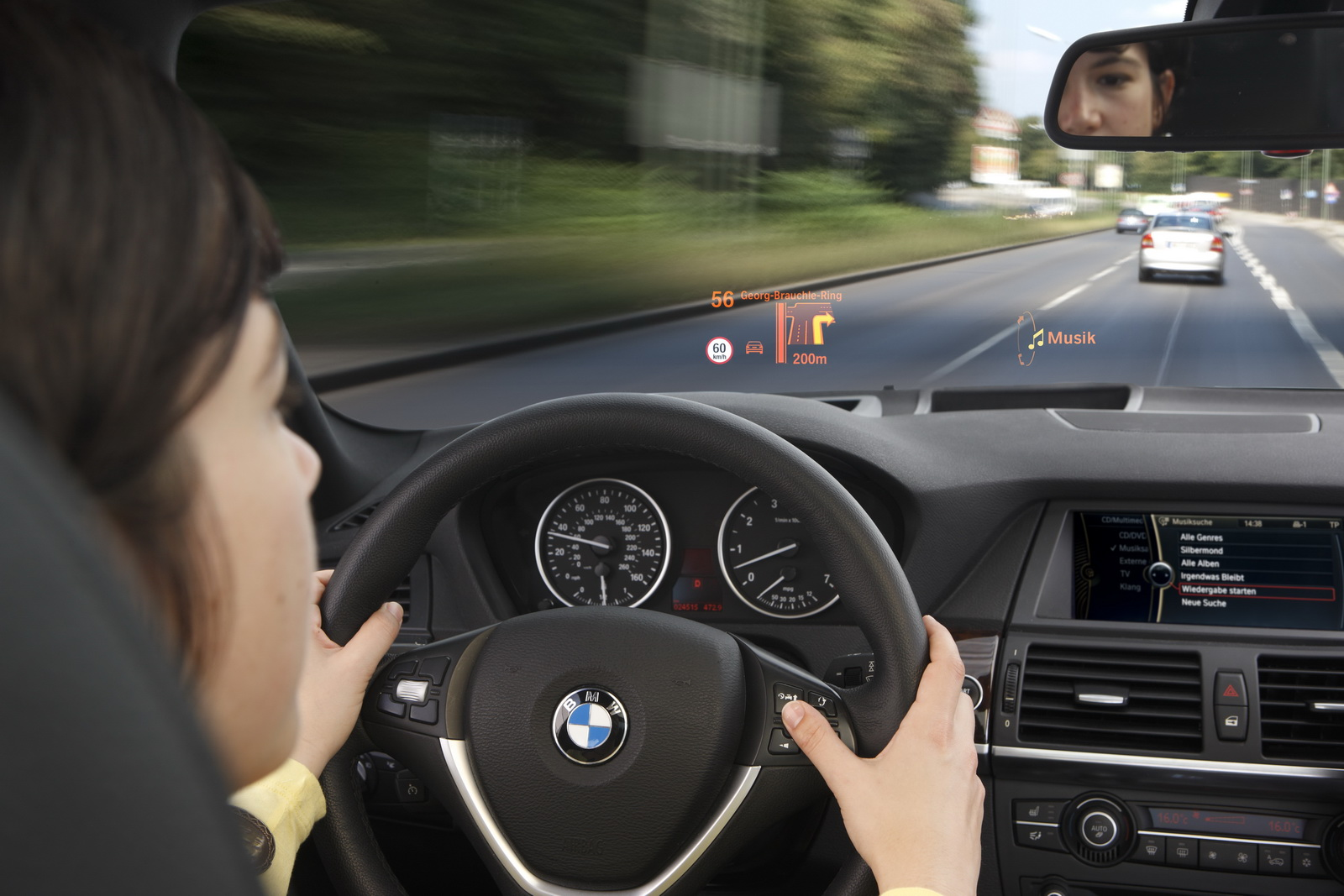 Next Gen Bmw Idrive Gets Touchscreen Augmented Reality