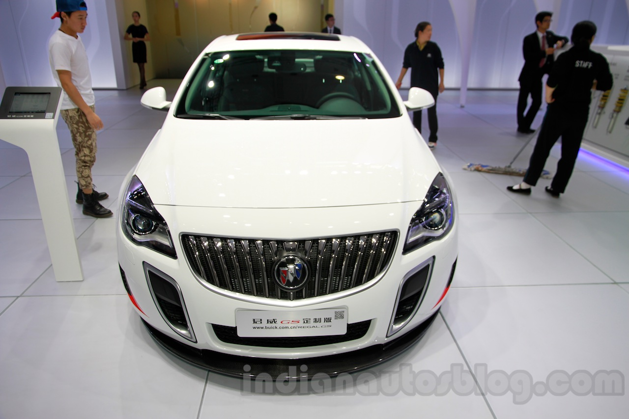 Buick Regal GS front at 2014 Guangzhou Auto Show
