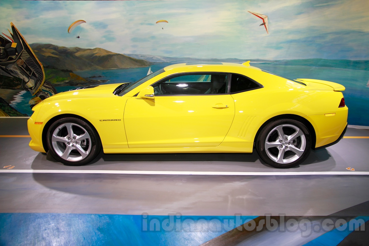 Chevrolet Camaro RS Limited Edition side at 2014 Guangzhou Auto Show