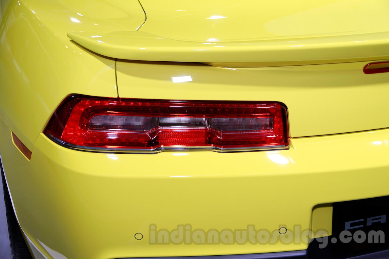 Chevrolet Camaro RS Limited Edition taillight at 2014 Guangzhou Auto Show