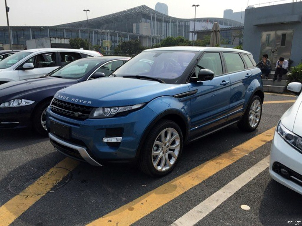 China-made Range Rover Evoque spied front three quarter