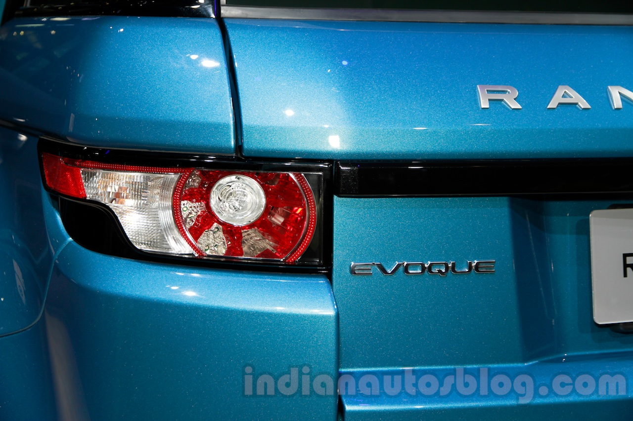 China made Range Rover Evoque taillight at 2014 Guangzhou Auto Show