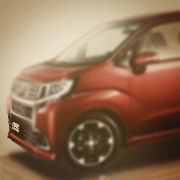 Daihatsu Move Custom front image
