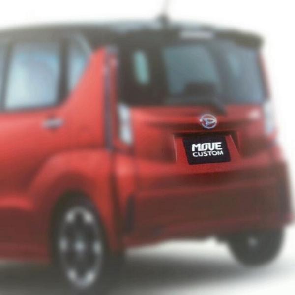 Daihatsu Move Custom rear image
