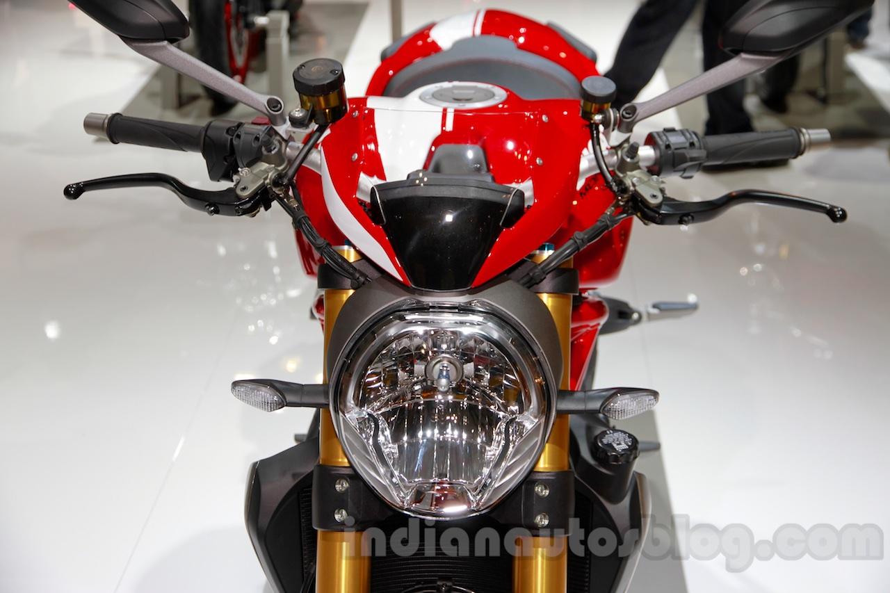 Ducati Monster 1200 S Stripe headlamp at the EICMA 2014