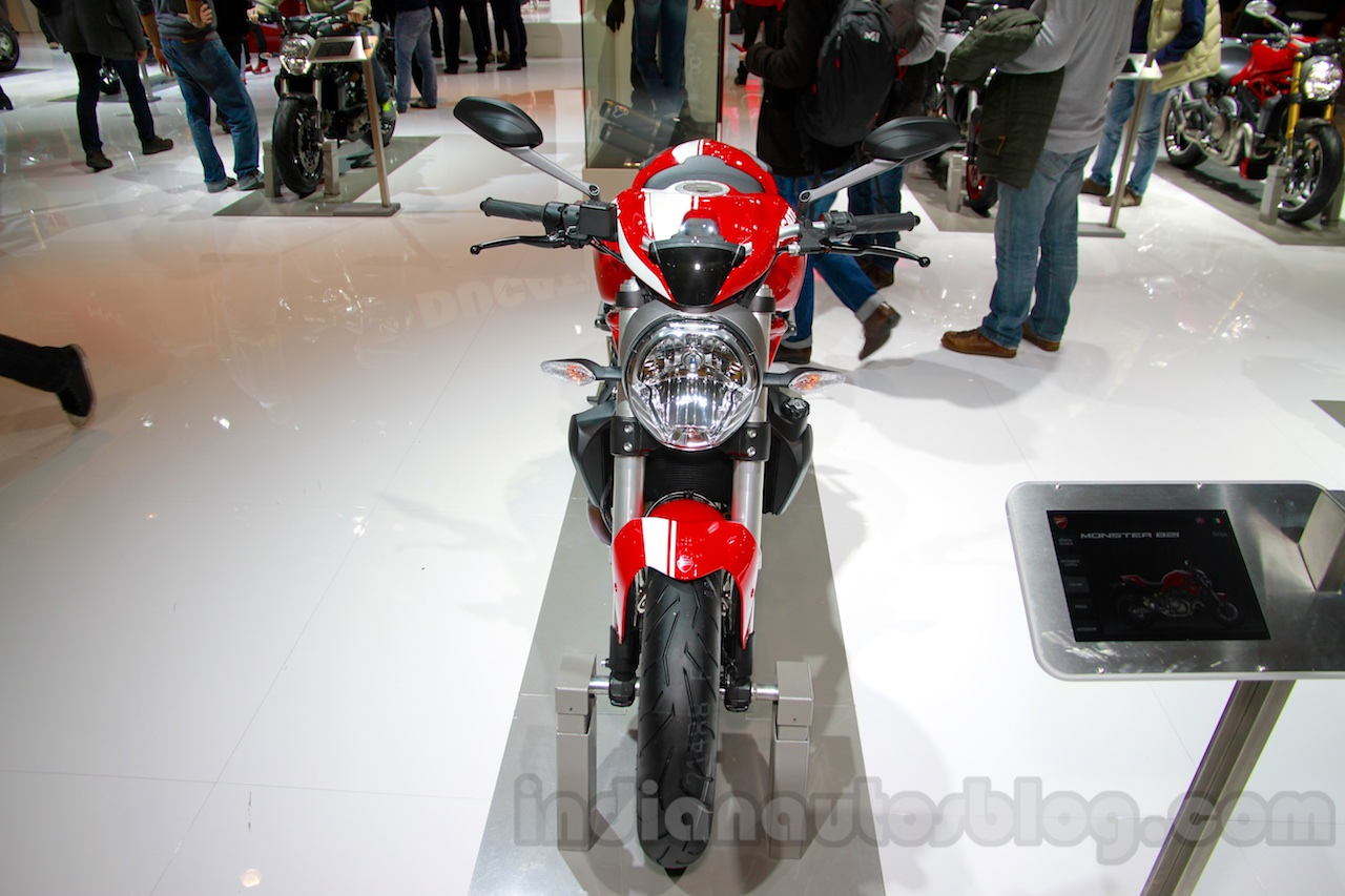Ducati Monster 821 Stripe front at EICMA 2014