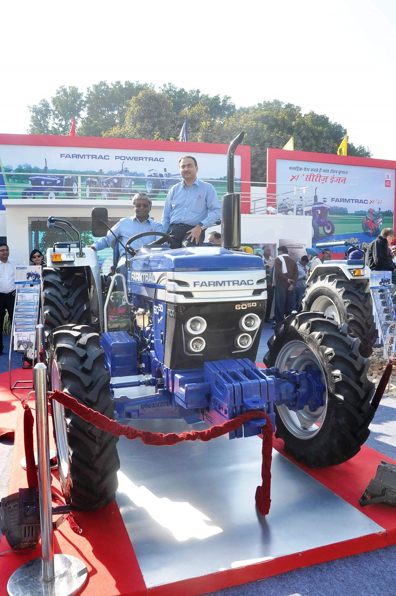 Escorts Framtrac 6050 4x4 at Agritech