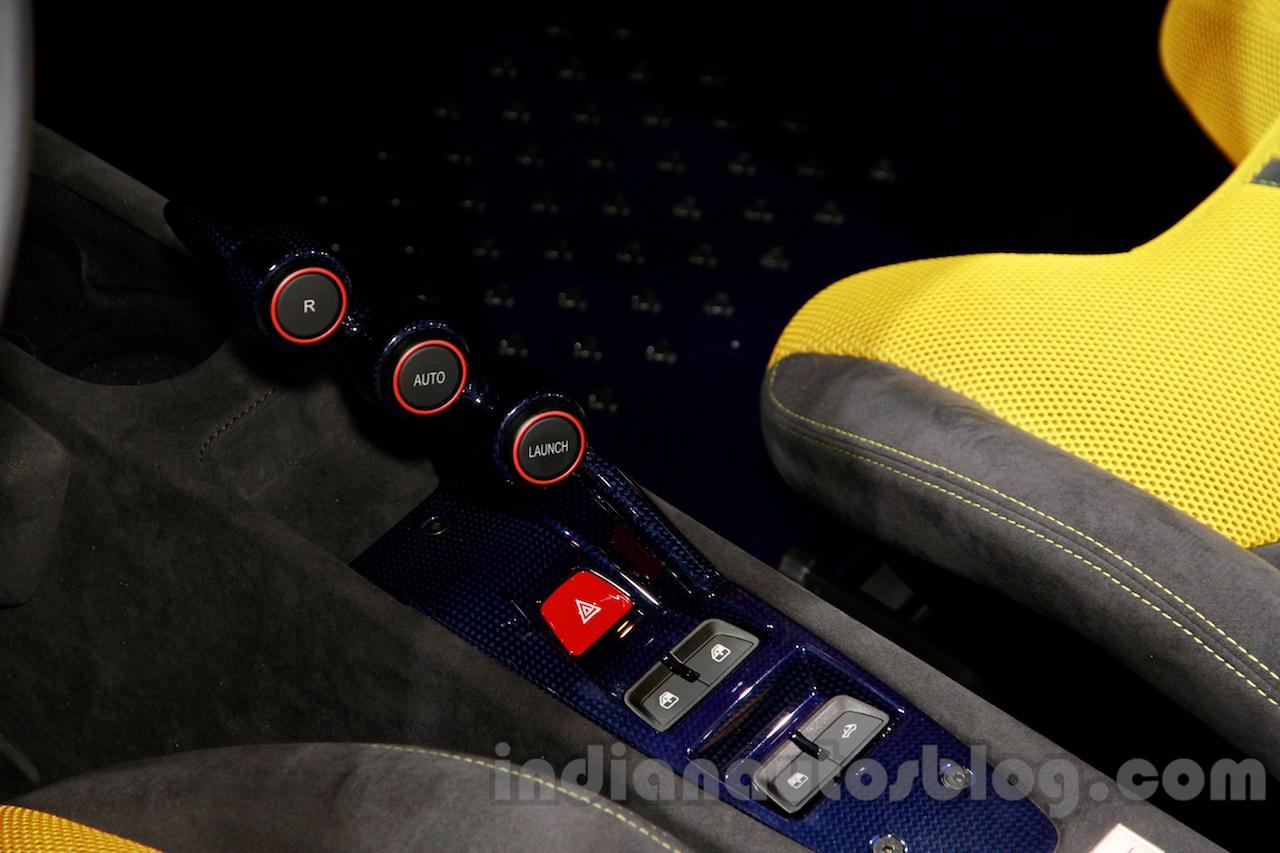 Ferrari 458 Speciale A gear selector at Guangzhou Auto Show 2014