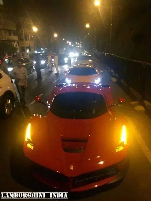 Ferrari LaFerrari spotted in India