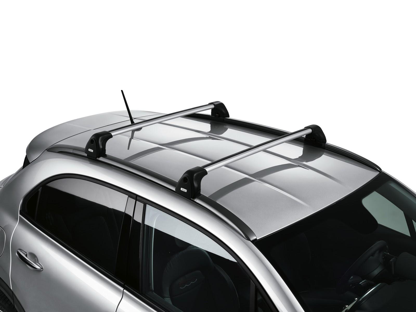 Fiat 500X Mopar roof rack