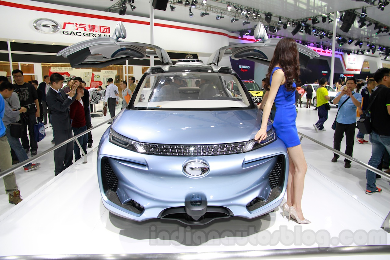 Guangzhou Auto WitStar Concept front at the 2014 Guangzhou Auto Show