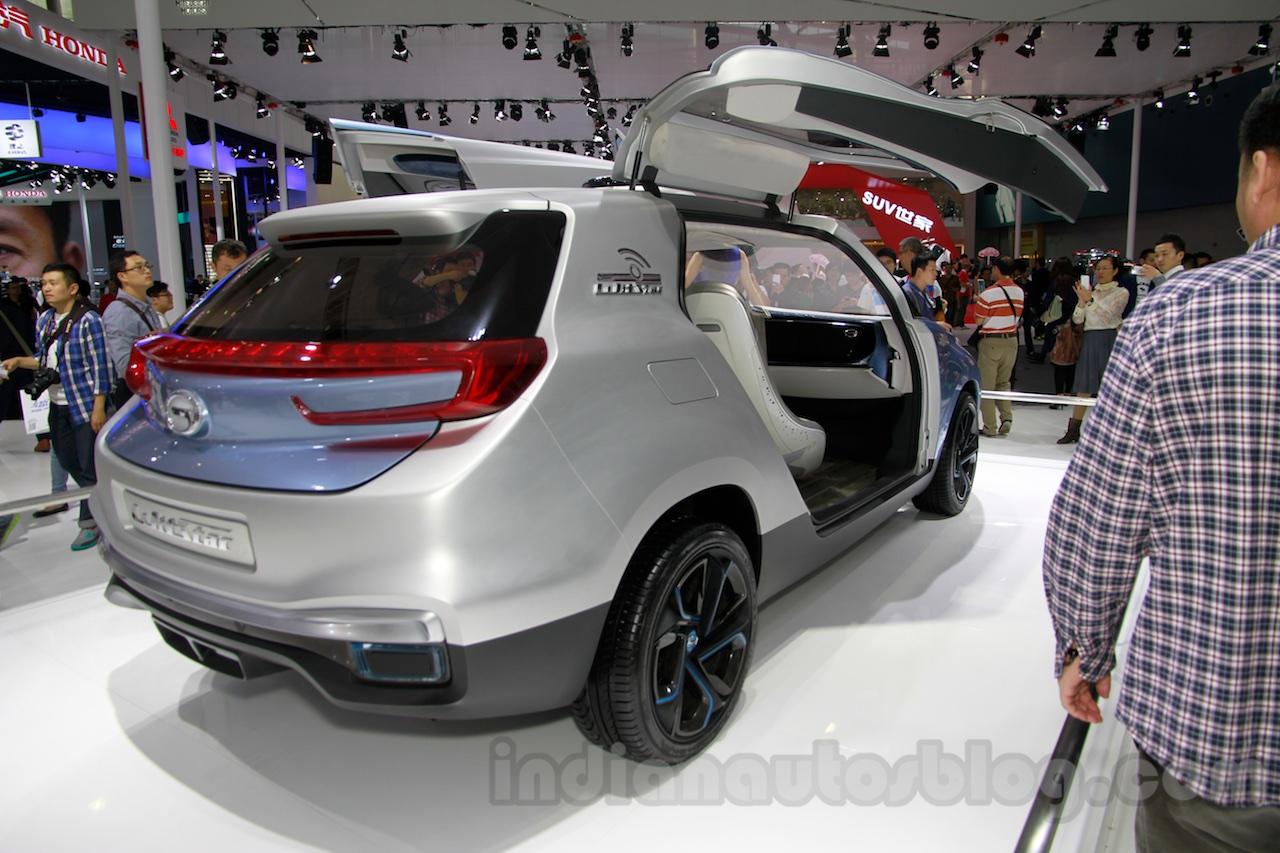 Guangzhou Auto WitStar Concept rear quarters at the 2014 Guangzhou Auto Show