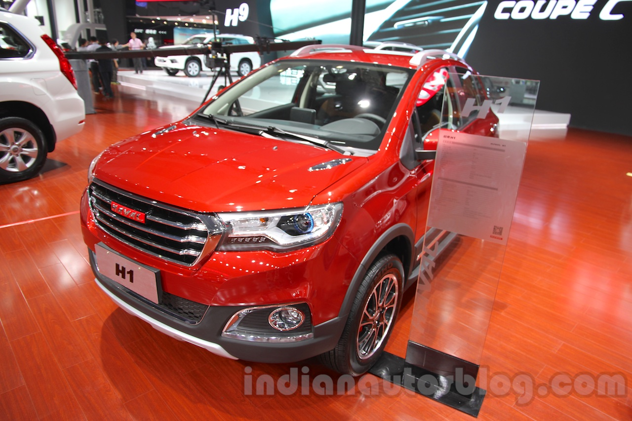 Haval H1 front three quarter at 2014 Guangzhou Auto Show