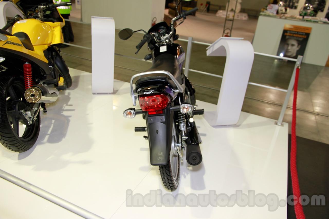 Hero HF Deluxe rear at EICMA 2014