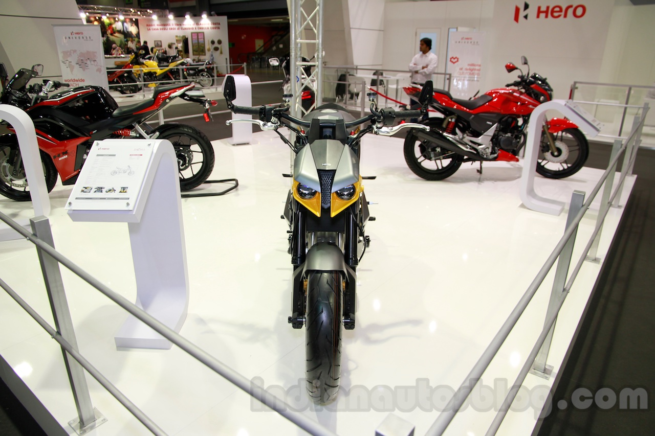 Hero Hastur front at EICMA 2014