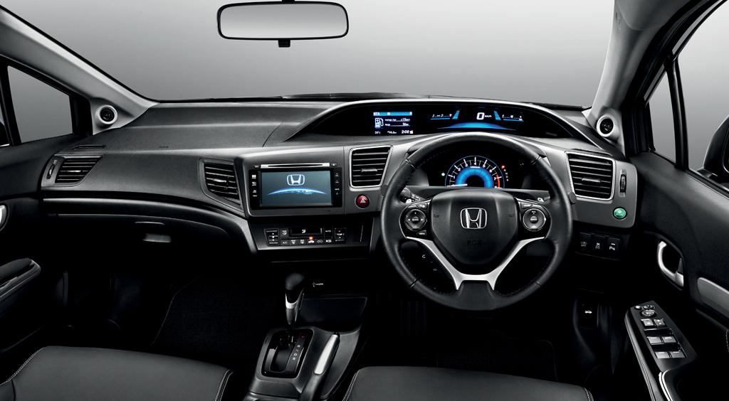 Honda Civic facelift Malaysia interior