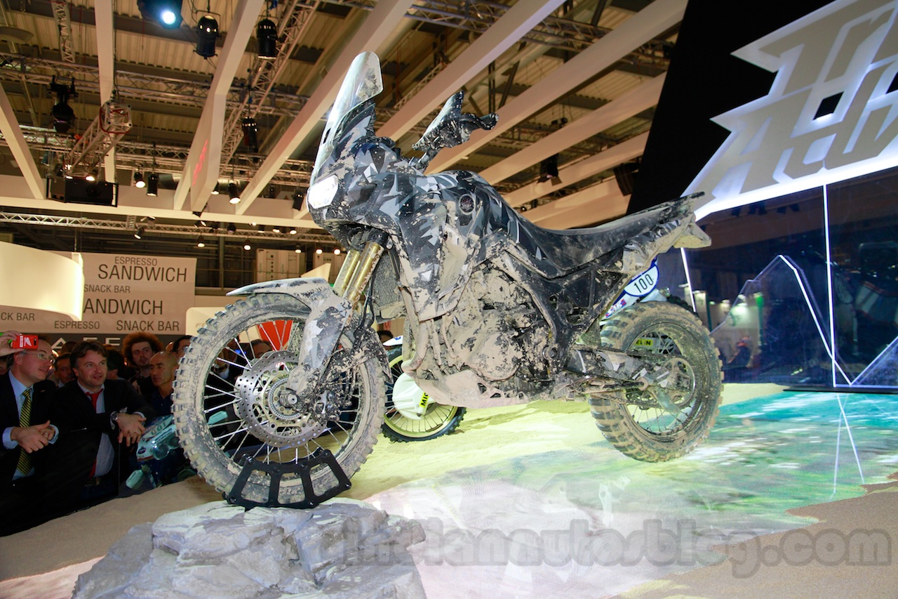 Honda True Adventure Prototype  live at EICMA 2014