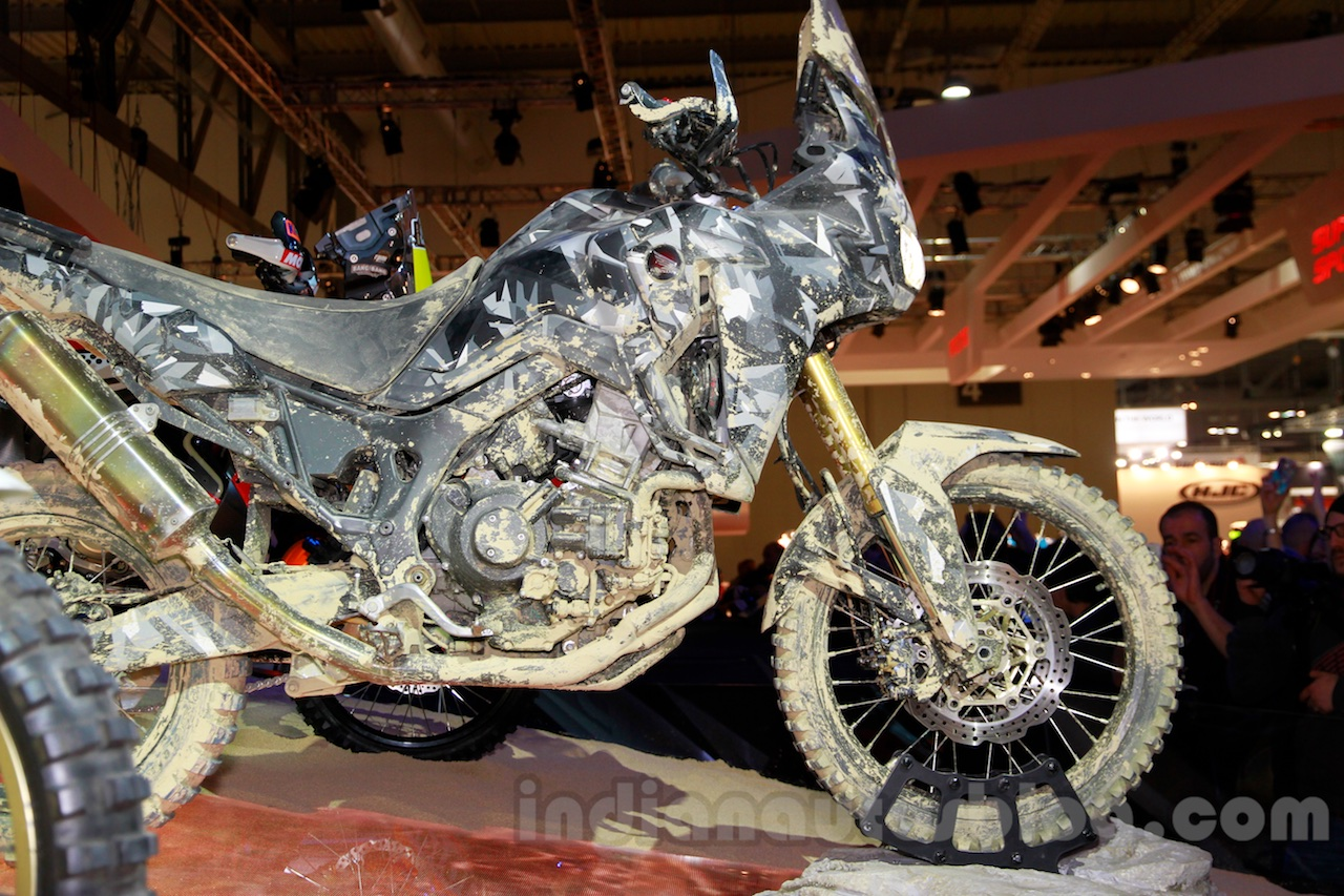 Honda True Adventure Prototype side at EICMA 2014