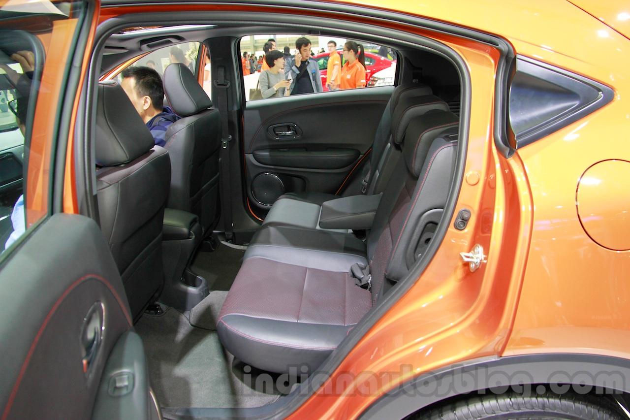 Honda XR-V rear seats at the 2014 Guangzhou Motor Show
