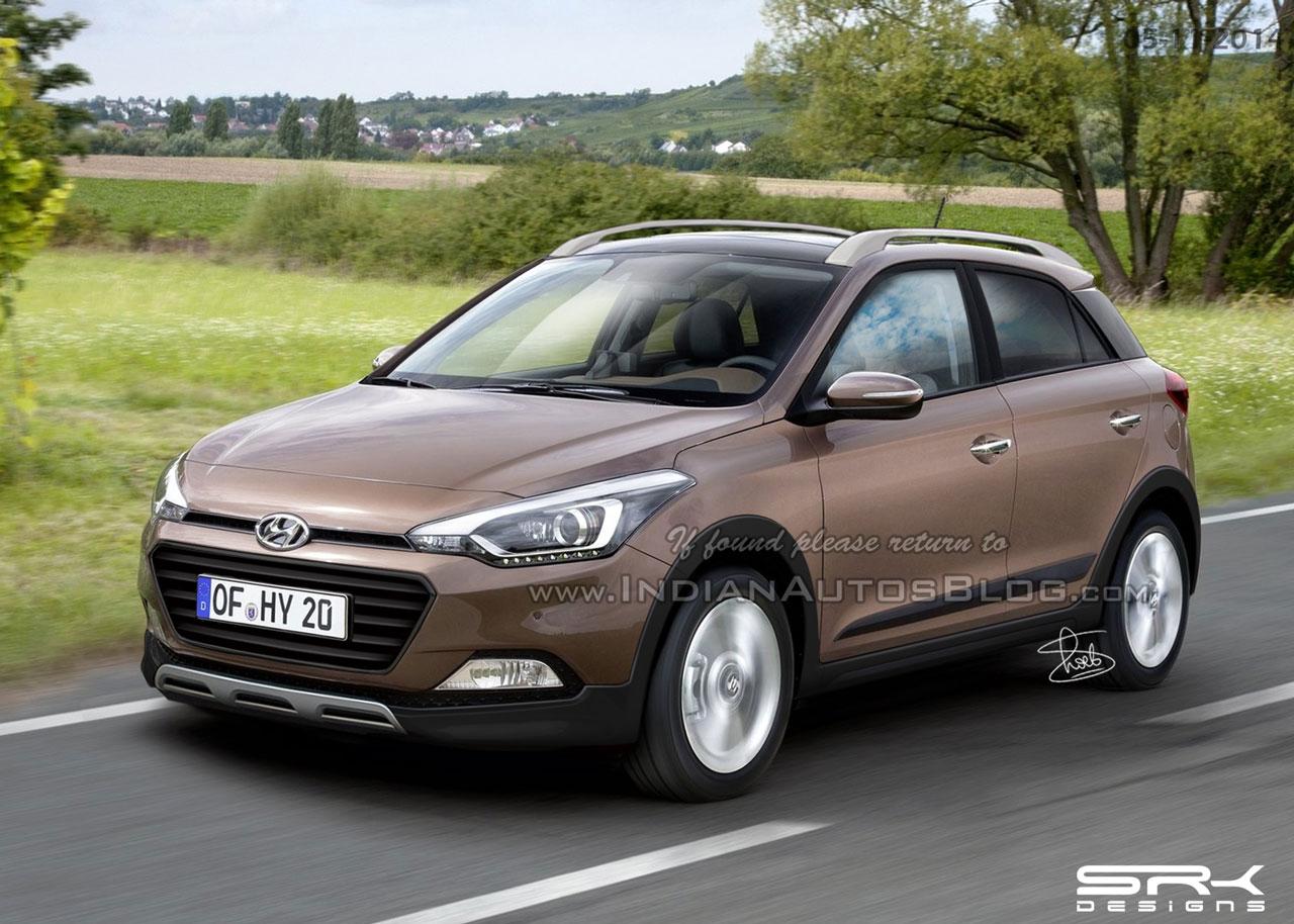 Hyundai Elite i20 cross IAB rendering