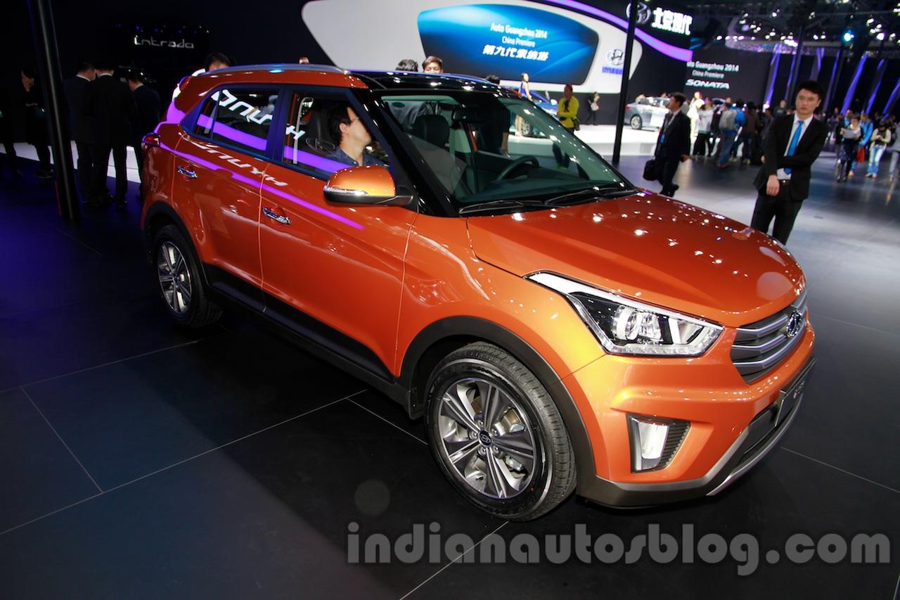 Hyundai ix25 at 2014 Guangzhou Motor Show