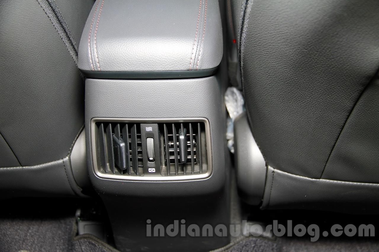 Hyundai ix25 rear AC vents at 2014 Guangzhou Motor Show