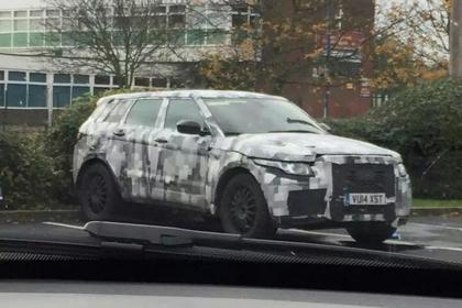 Jaguar CX-17 SUV test mule spied in UK