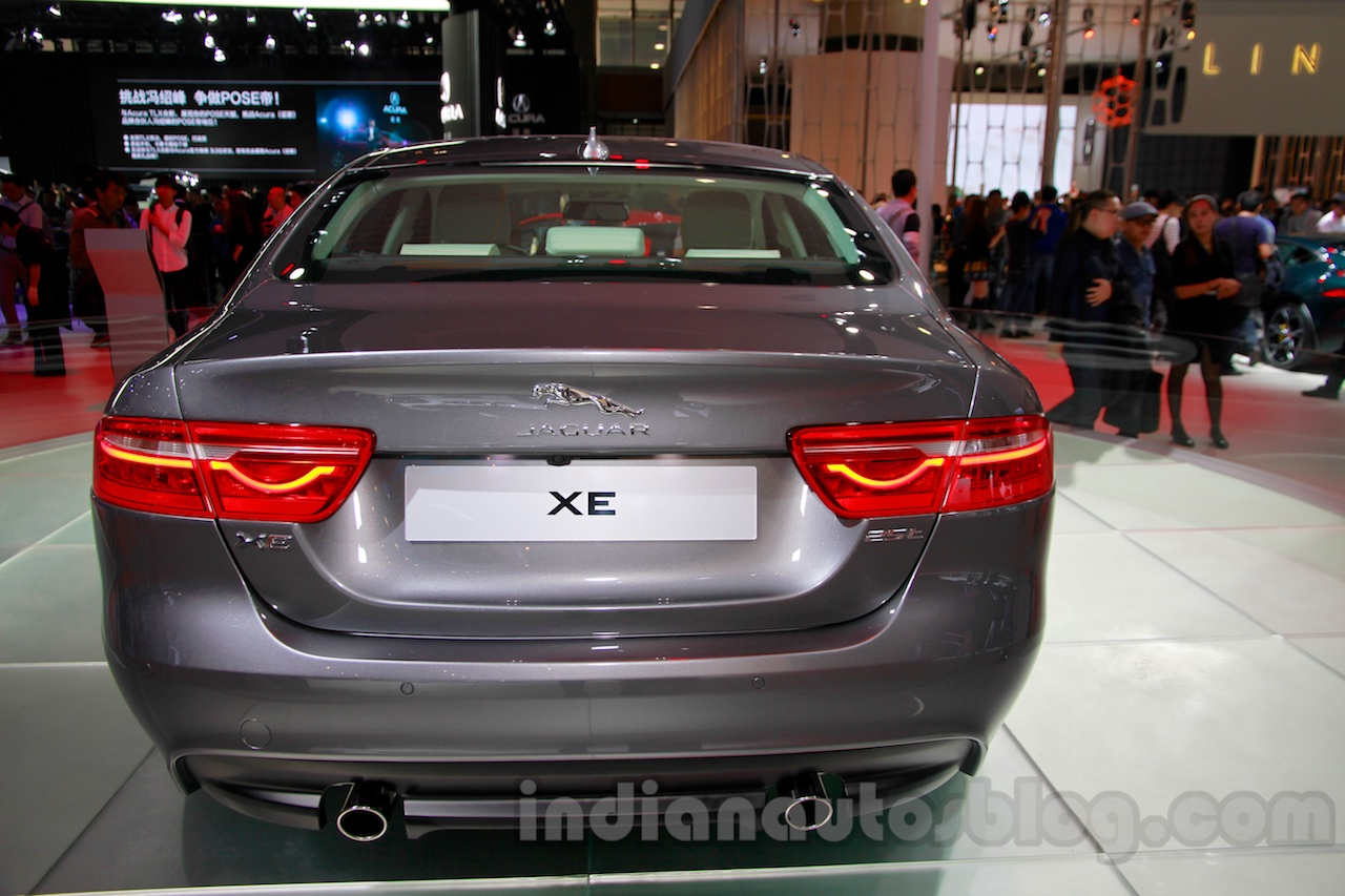 Jaguar XE rear at the 2014 Guangzhou Auto Show