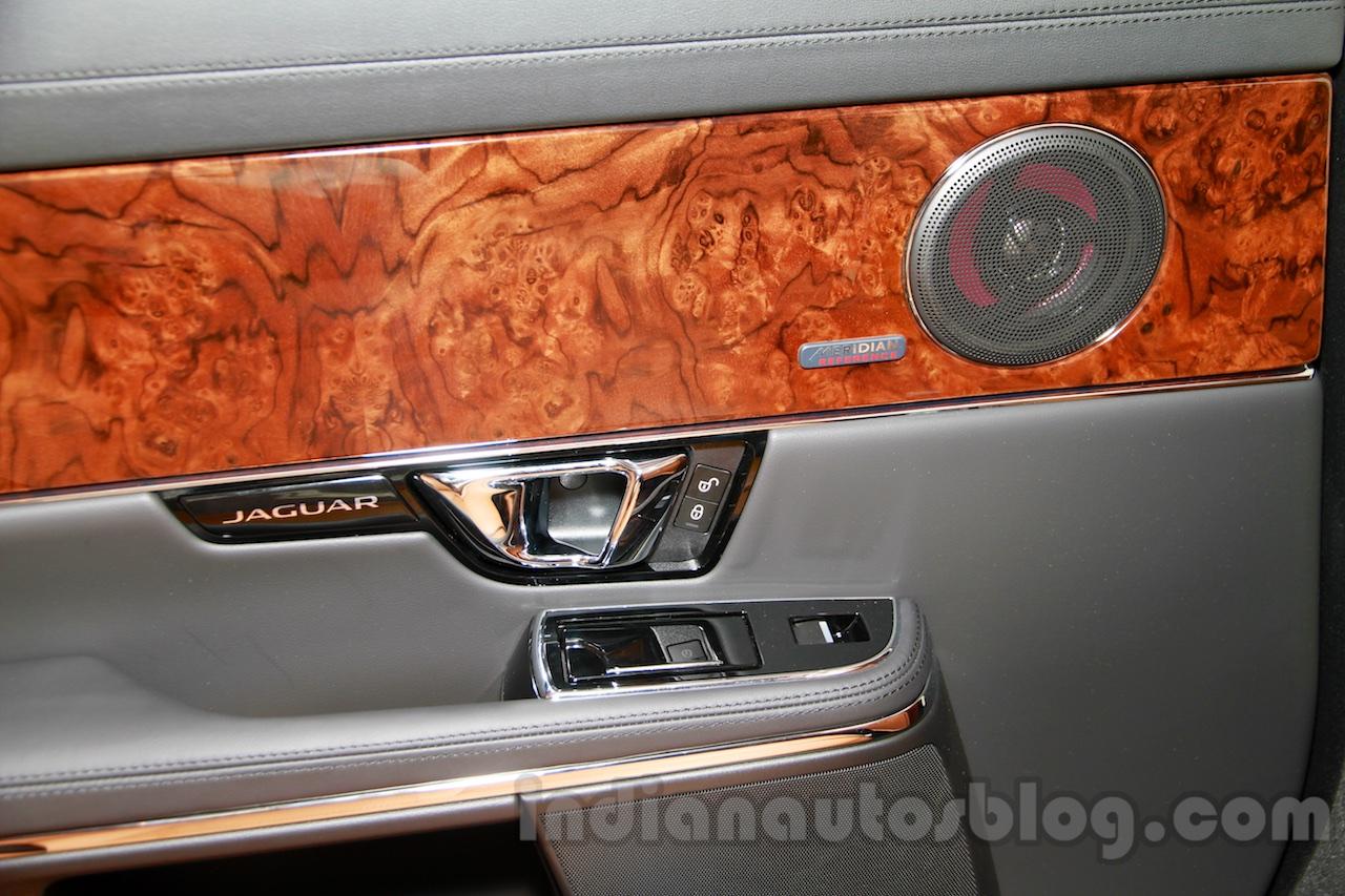 Jaguar XJ Cambridge edition speaker at 2014 Guangzhou Auto Show
