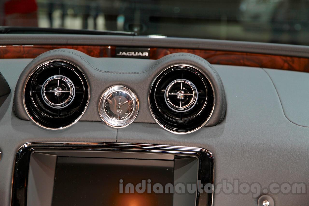 Jaguar XJ Cambridge edition vents at 2014 Guangzhou Auto Show