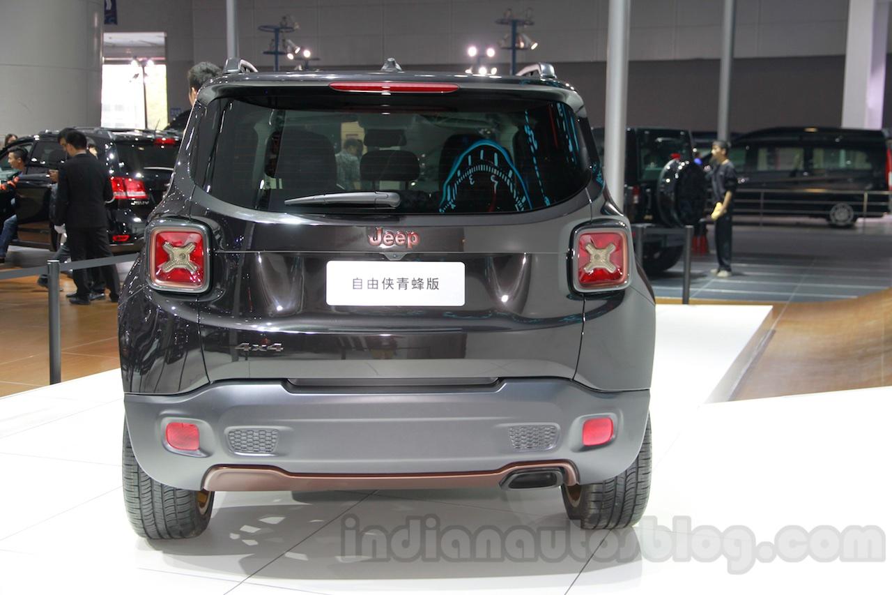 Jeep Renegade Apollo Edition rear at 2014 Guangzhou Auto Show