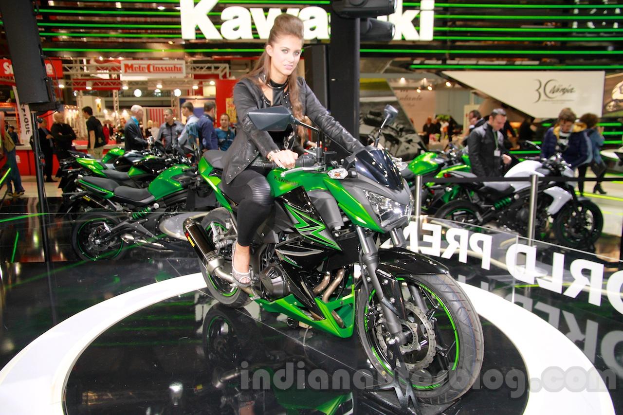 Kawasaki Z300 at the EICMA 2014