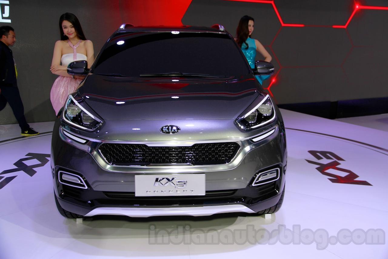 Kia KX3 Concept front at 2014 Guangzhou Auto Show
