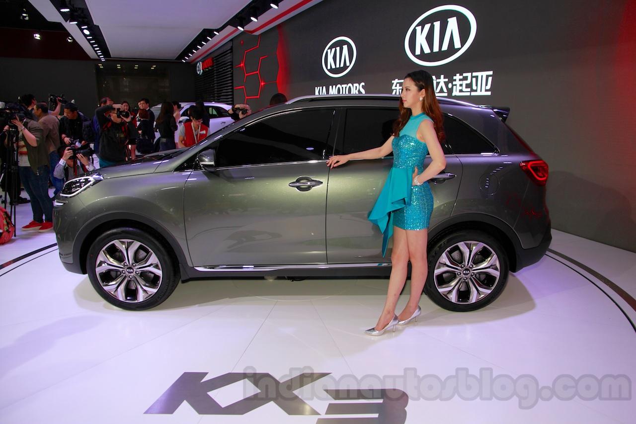 Kia KX3 Concept side at 2014 Guangzhou Auto Show