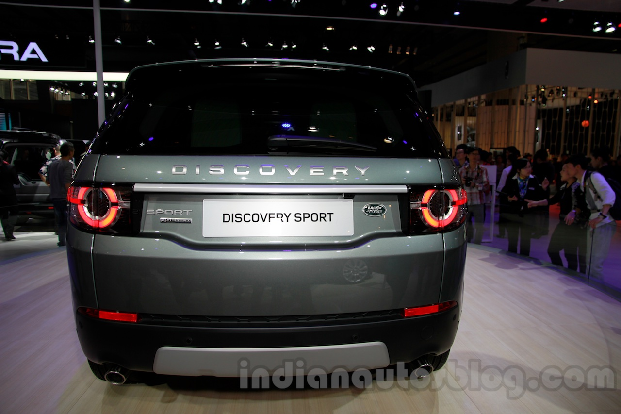 Land Rover Discovery Sport rear at 2014 Guangzhou Auto Show