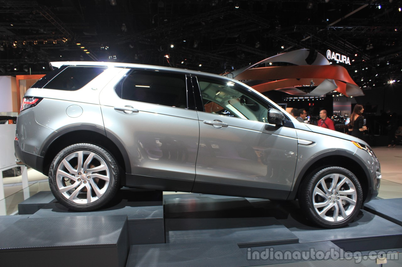 Land Rover Discovery Sport side view at the 2014 Los Angeles Auto Show