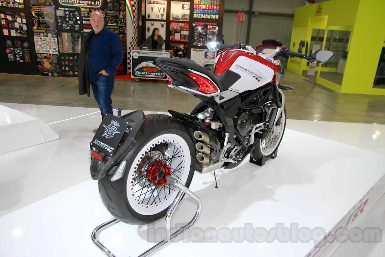 MV Agusta Brutale 800 Dragster RR rear quarters at EICMA 2014