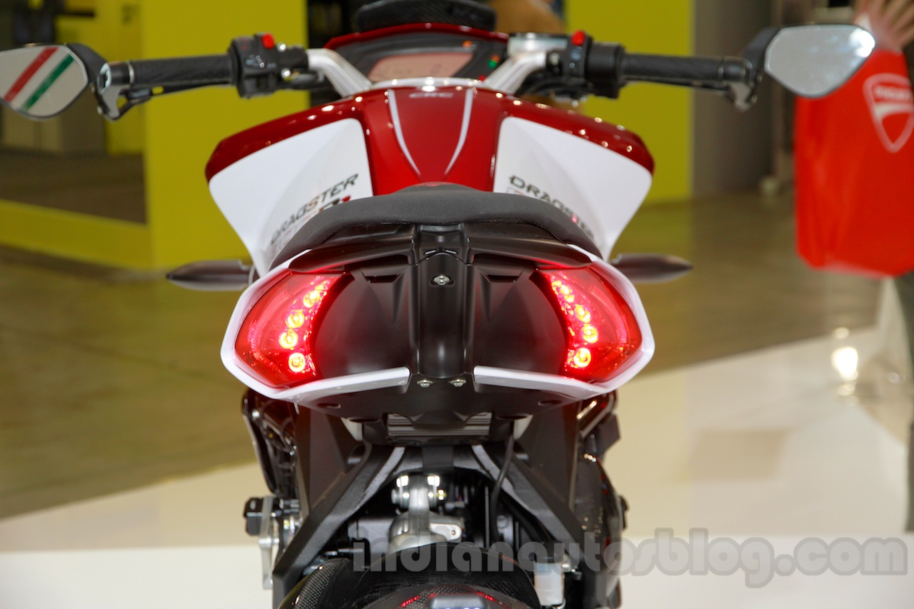 MV Agusta Brutale 800 Dragster RR taillight at EICMA 2014