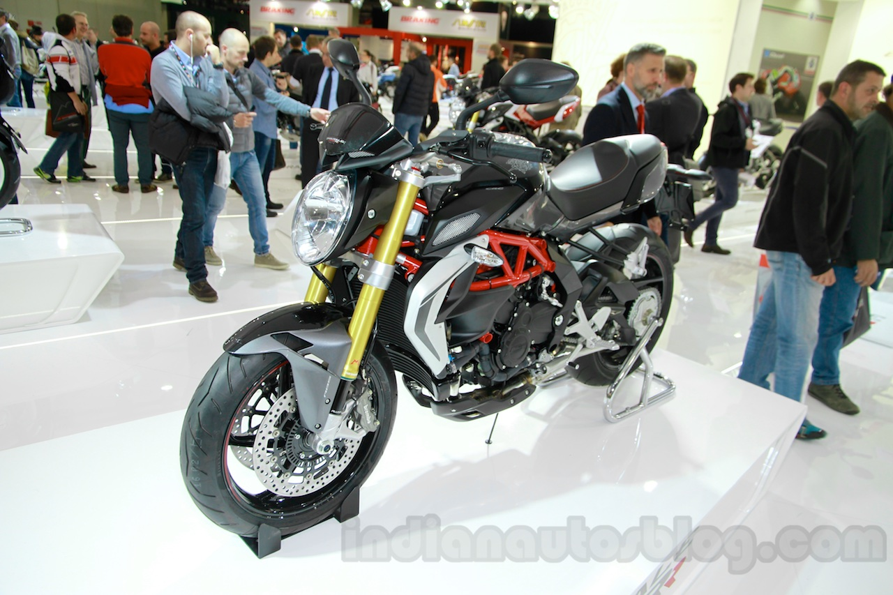 MV Agusta Brutale 800 RR front quarter at EICMA 2014