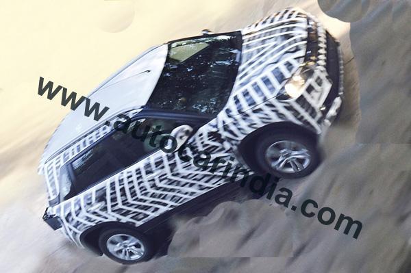Maruti YBA mini SUV spied