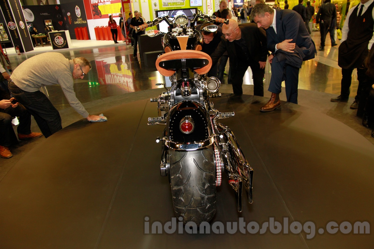 Matchless Model X Reloaded rear at EICMA 2014