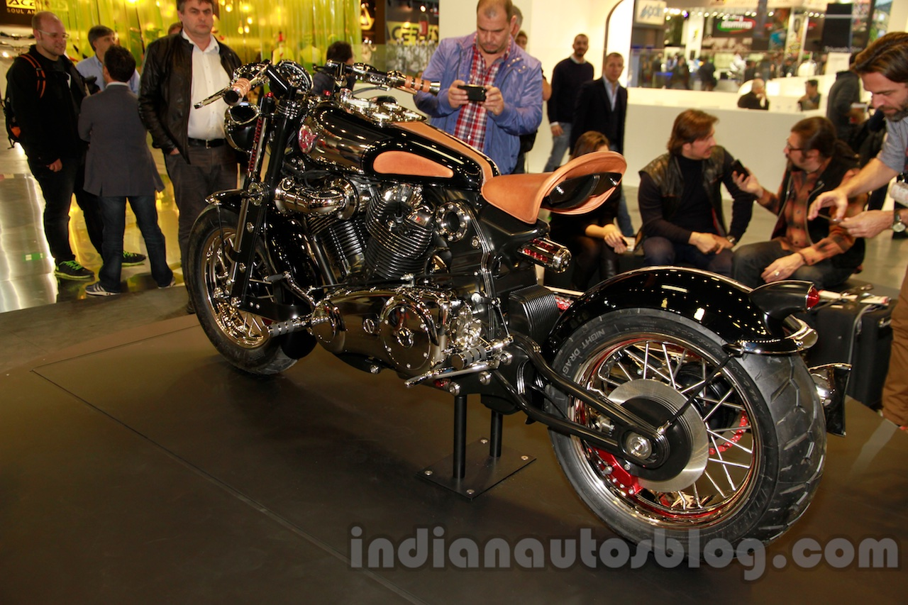 Matchless Model X Reloaded rear three quarter at EICMA 2014