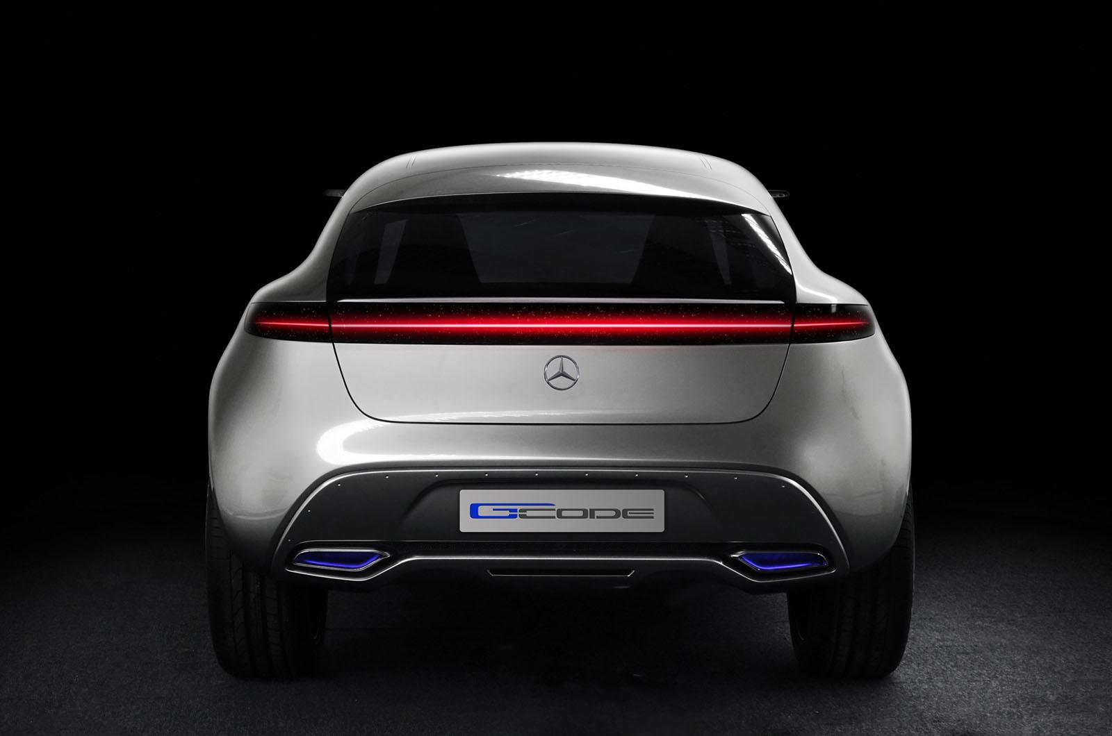 Mercedes-Benz G-Code Concept rear