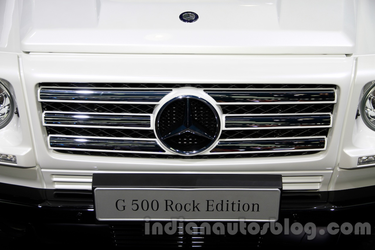 Mercedes G 500 Rock Edition grille at Guangzhou Auto Show 2014