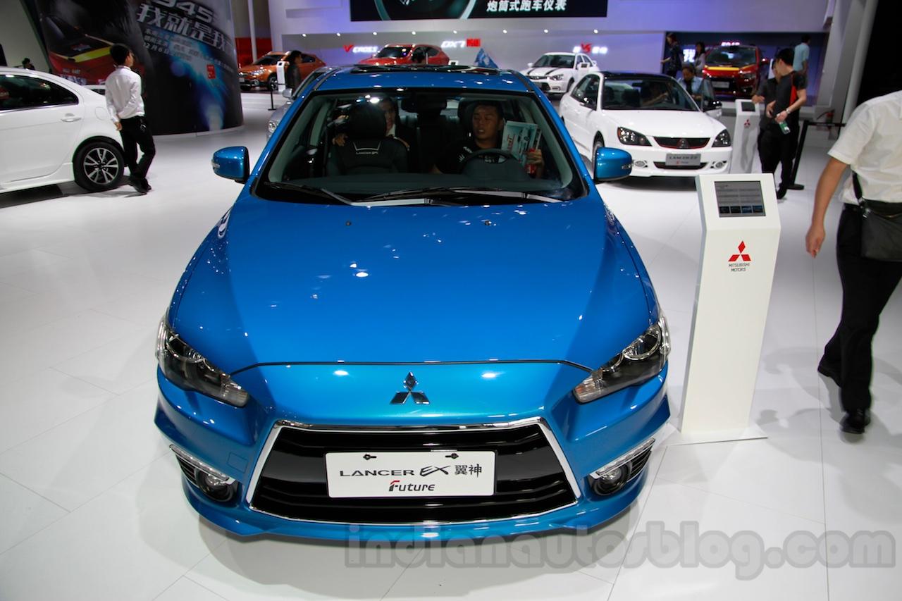 Mitsubishi Lancer Future front at 2014 Guangzhou Auto Show