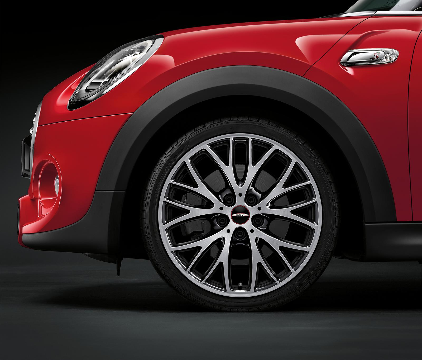 New Mini Cooper S with John Cooper Works package alloy wheel