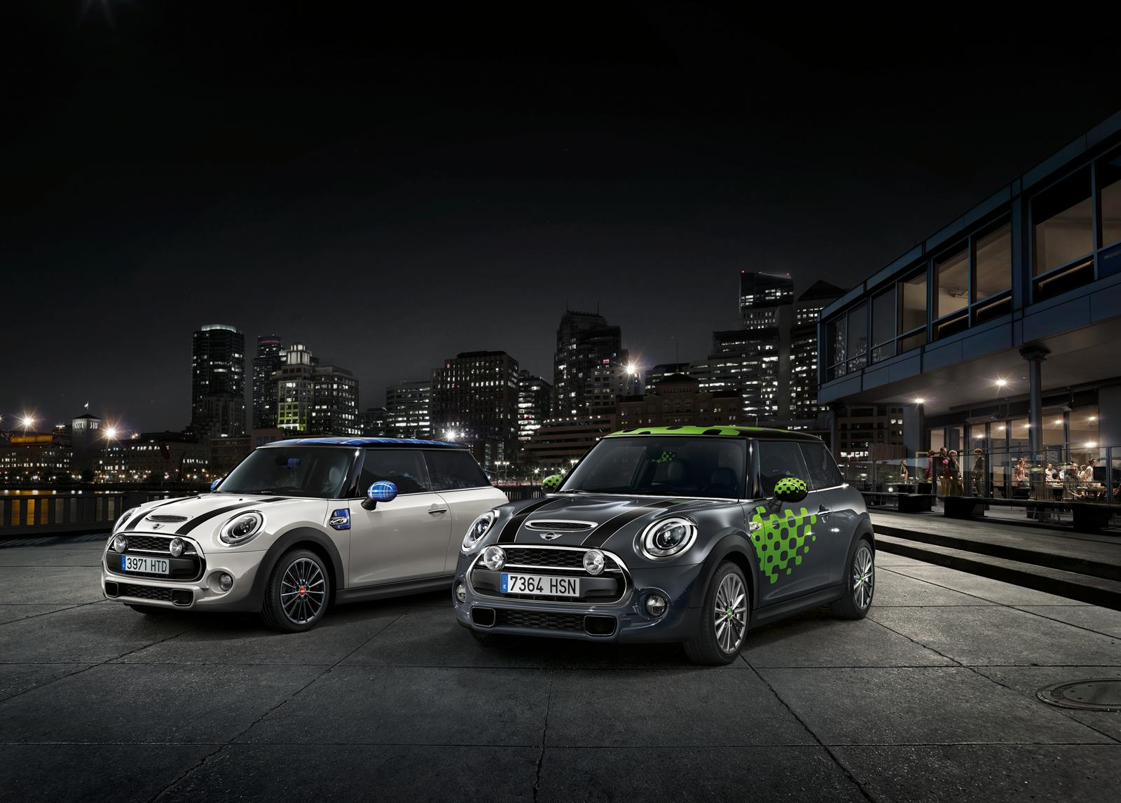 New Mini Cooper S with John Cooper Works package white and black
