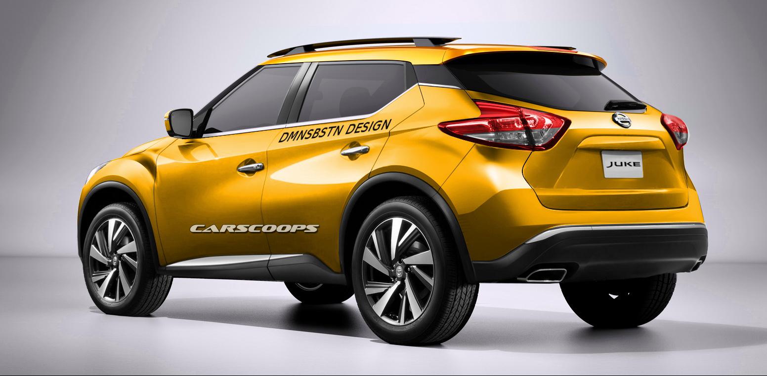 Nissan Kicks render rear