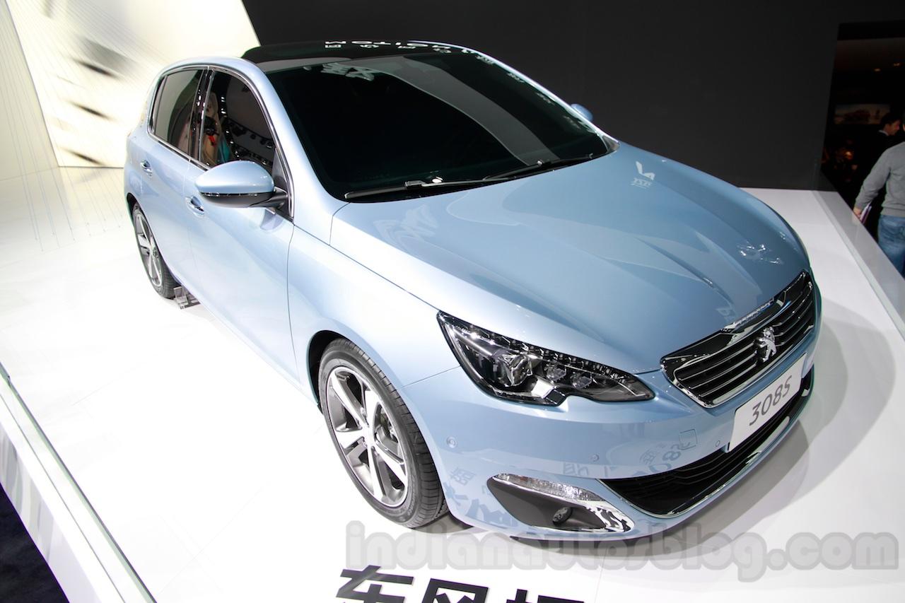 Peugeot 308S front quarter at 2014 Guangzhou Auto Show